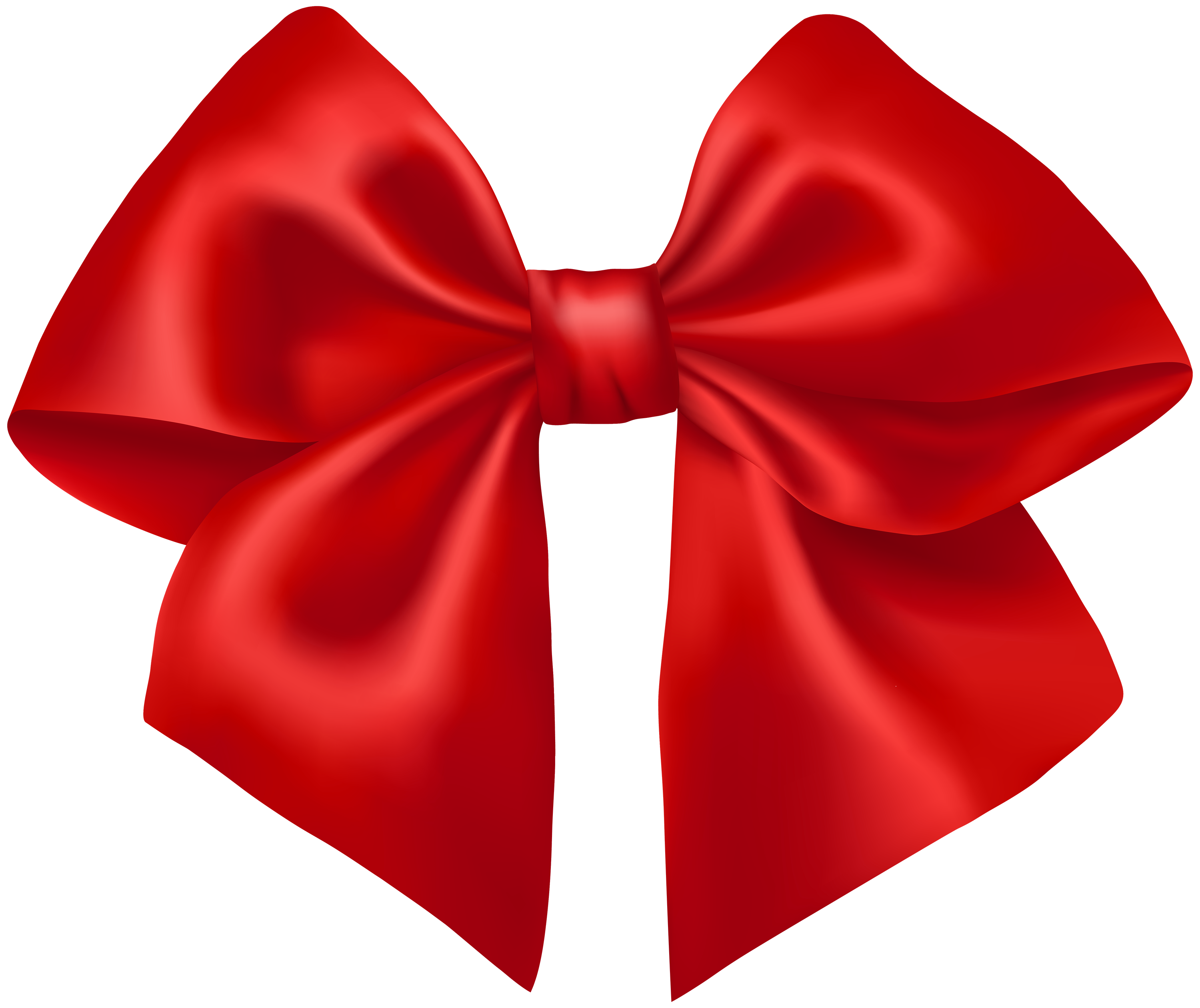 3000x2521 Red Bow Clip Art