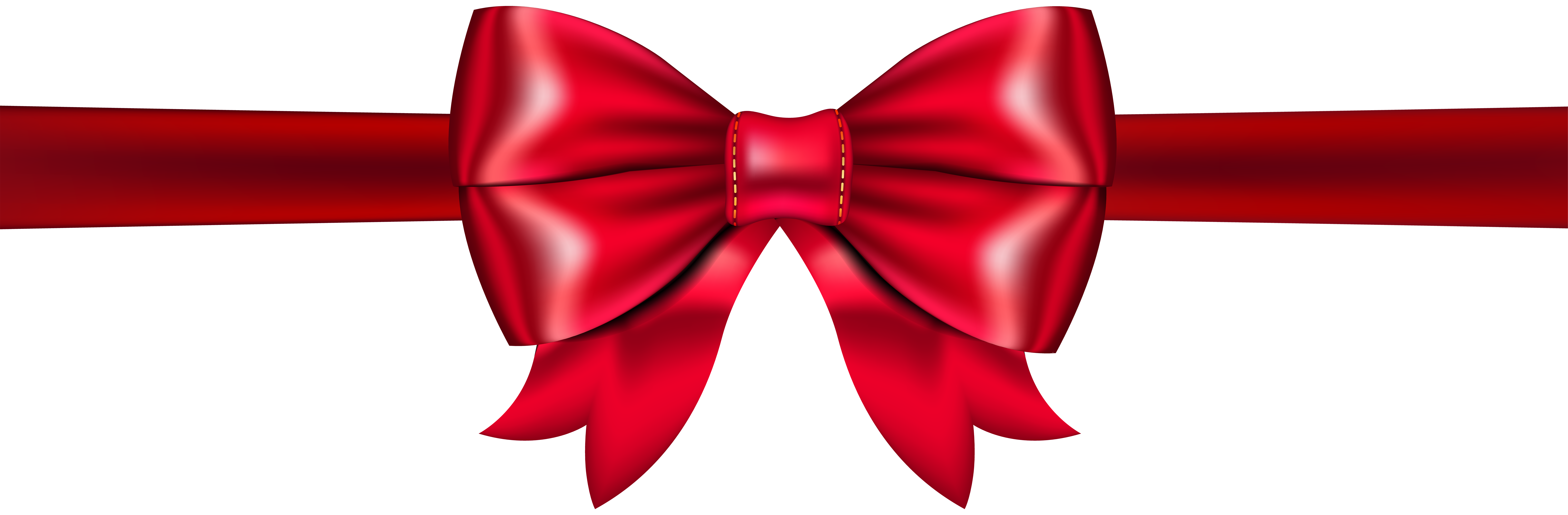 8000x2631 Red Bow Png Clip Artu200b Gallery Yopriceville