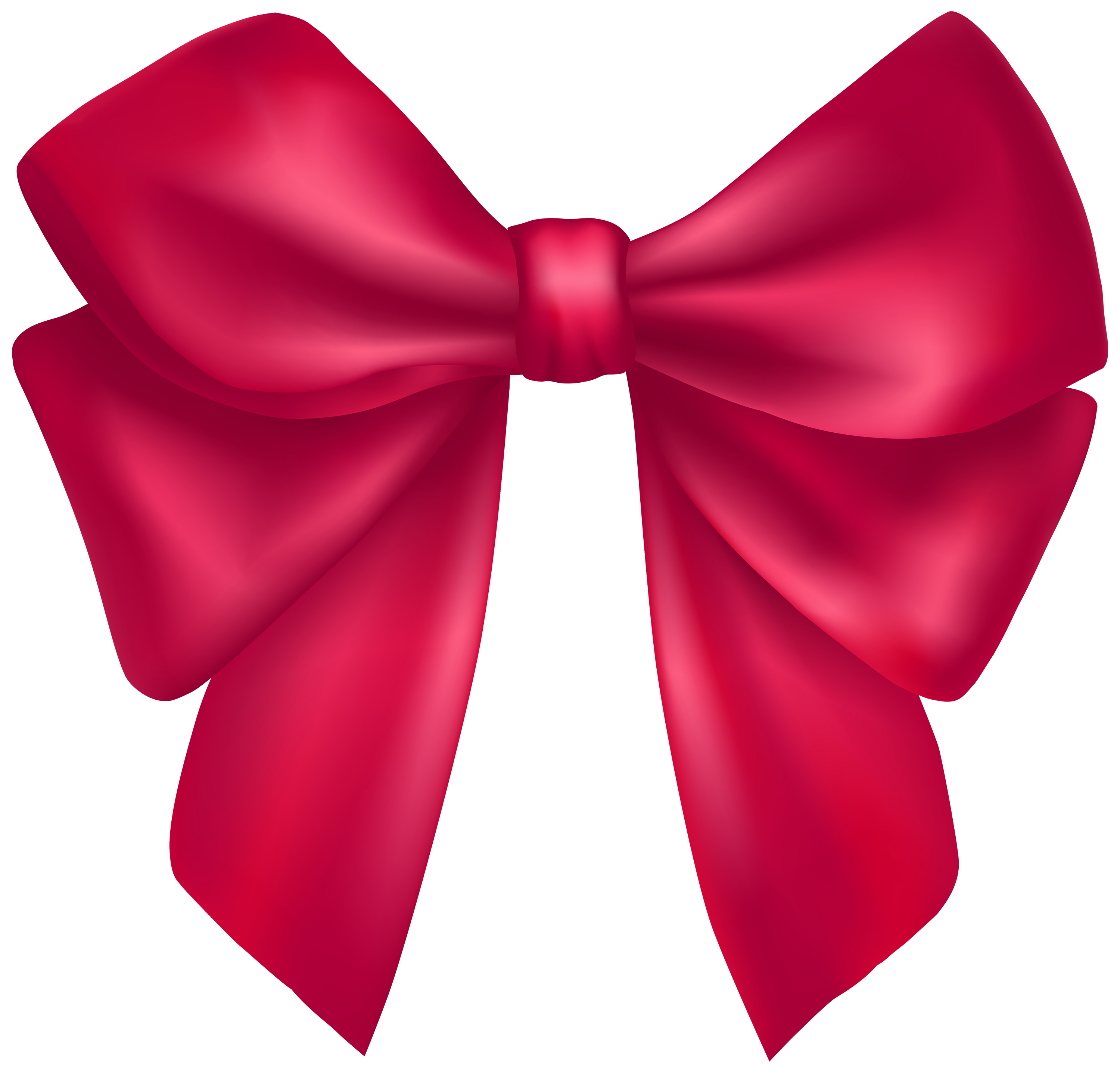 3000x2874 Bow Tie Clipart Hot Pink