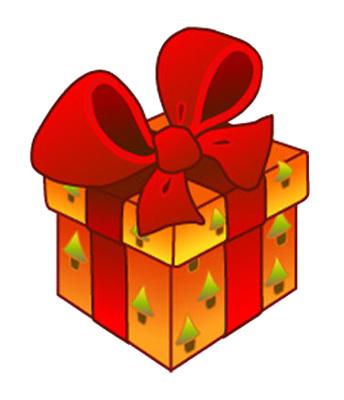 344x400 Christmas Presents Clip Art