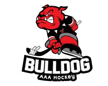 350x280 Bulldog Aaa Hockey Logo Design Contest Logo Arena