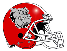 227x173 Bulldog Clipart Football Logo