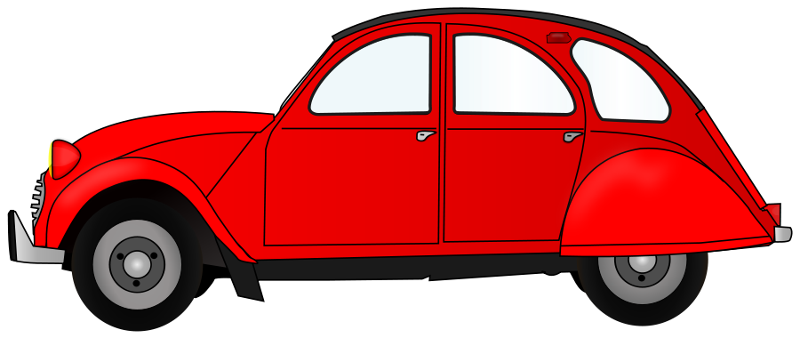 Red Car Clipart