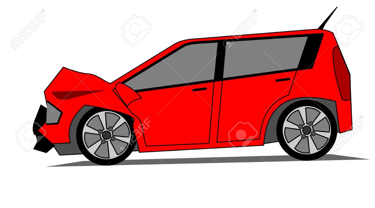 1300x722 Crash Clipart Wrecked Car