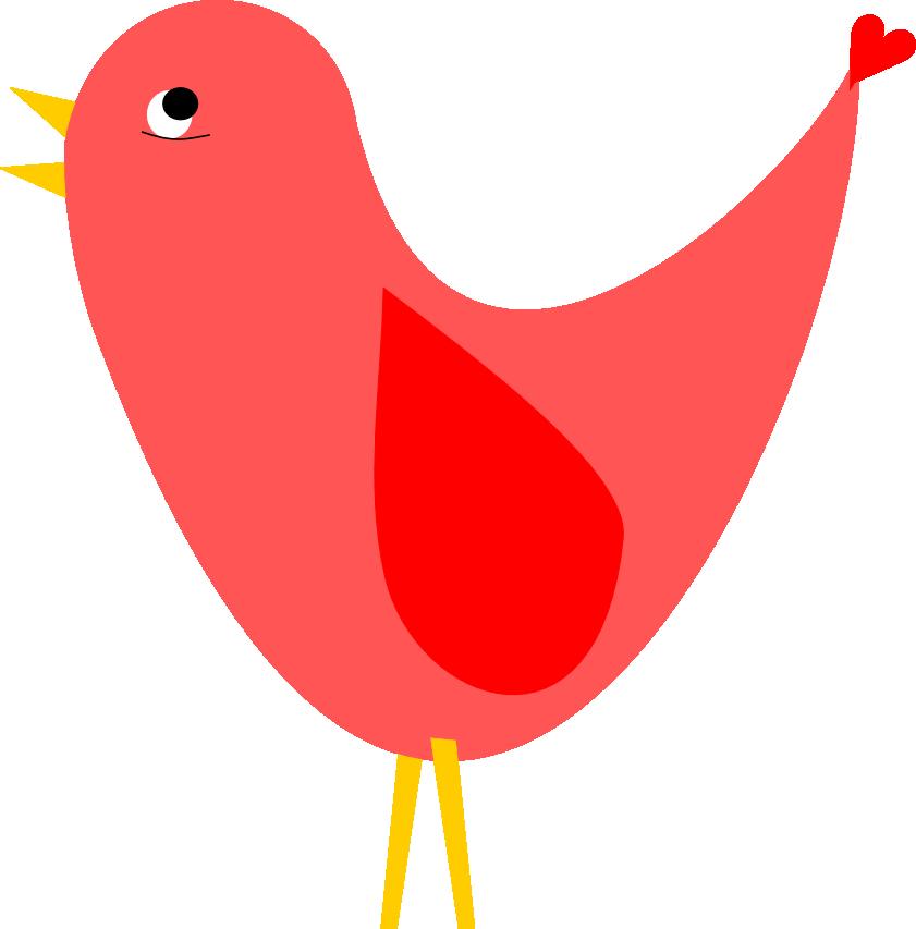 841x853 Red Bird Clip Art