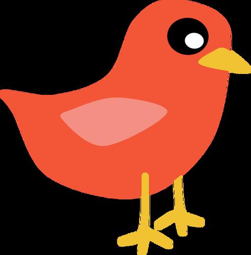 491x500 Red Cardinal Bird Vector Clip Art Public Domain Vectors