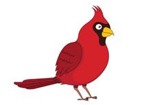 210x153 Winter Cardinal Bird Clipart