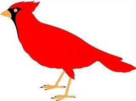 268x198 Free Cardinal Clipart