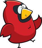 149x170 Red Cardinal Clip Art