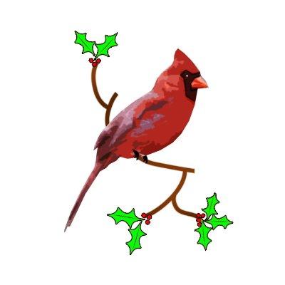 400x400 Red Cardinal Clipart