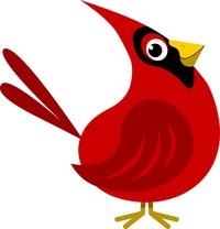 200x208 Cardinal Clipart Free