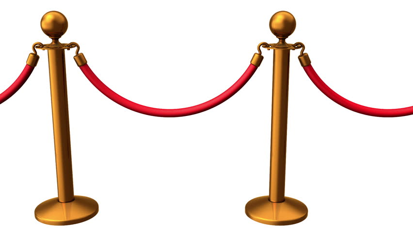 852x480 Red Carpet. White Background, Loop, Created In 4k, 3d Animation