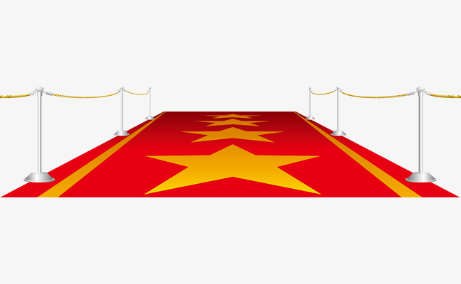 650x400 Star Carpet Isolation Fence, Vector Red, Carpet, Isolated Fence