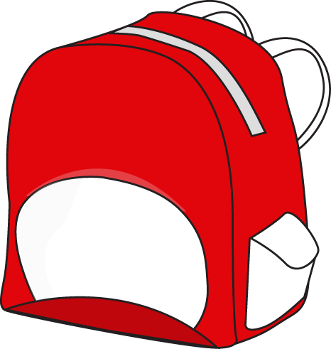 466x491 Backpack Clipart Image Clip Art Image Of A Red Backpack Image