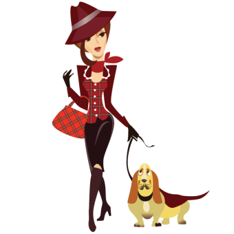 Red Dog Clipart