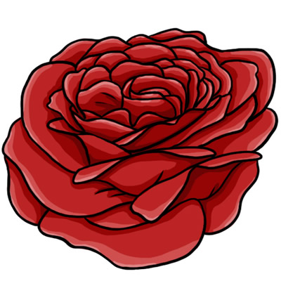 400x400 Learn About Nature 1 Red Flower Clip Art