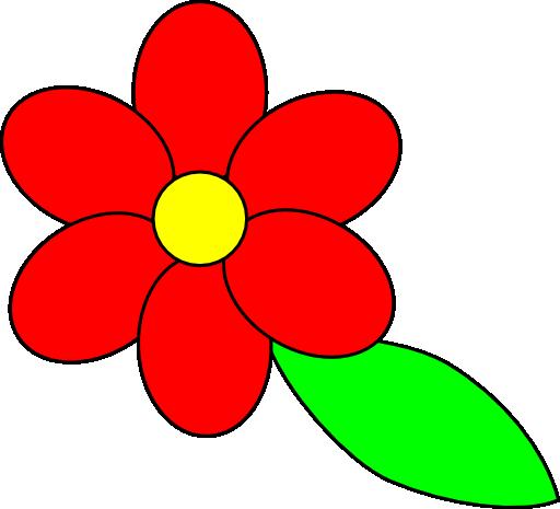 512x465 Red Flower Flower Clip Art Beautiful Useful Graphics 2