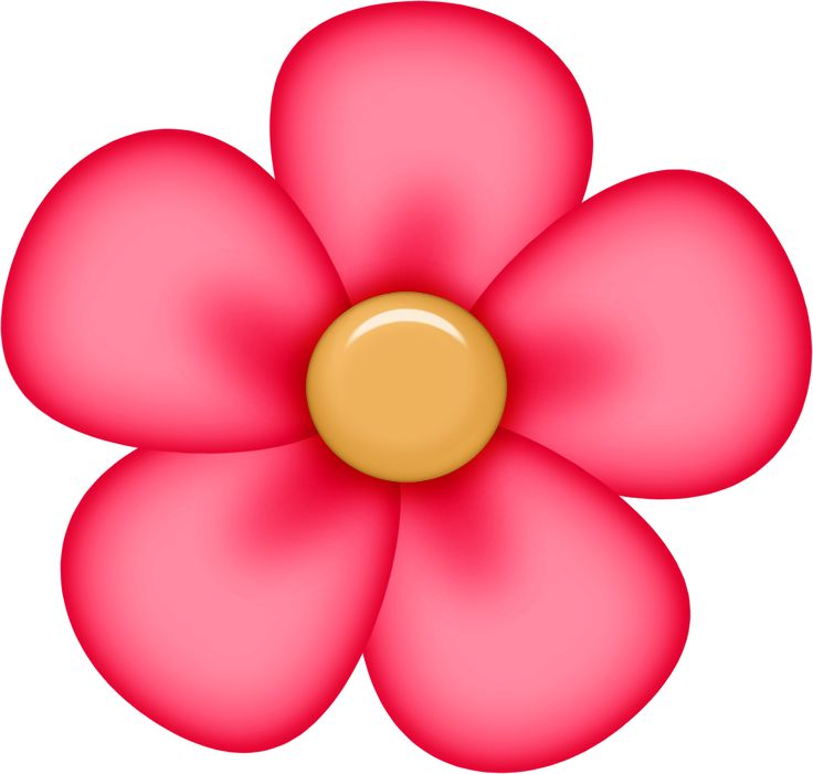 736x701 Red Flower Ideas About Flower Clipart On Doodle Flowers 2