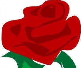 275x233 Rose Red Flower Clip Art Free Vectors Ui Download