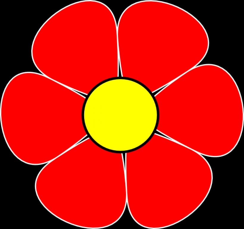 820x770 Red Flower Clip Art Clipartsco