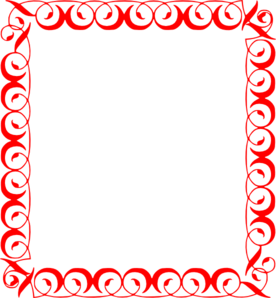 Red Frame Clipart | Free download best Red Frame Clipart on