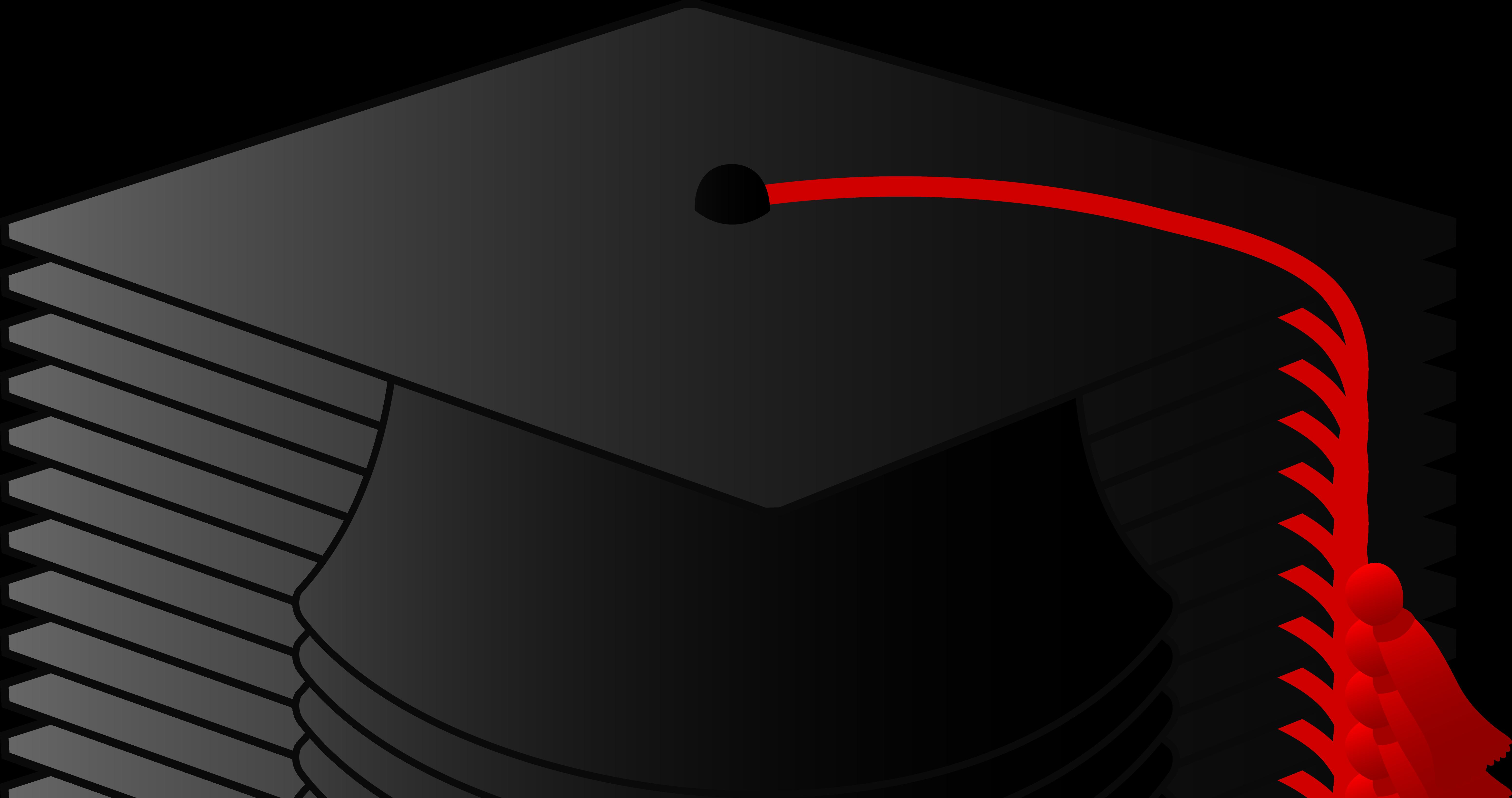 6204x3275 Red Graduation Tassel Clip Art Cliparts