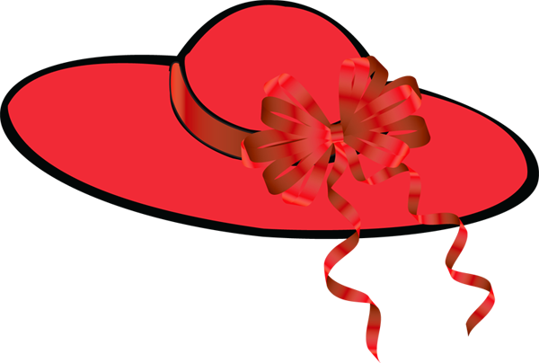 600x404 Red Hats Clipart