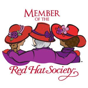 300x300 117 Best Red Hat Society Images Bowler Hat, Colour