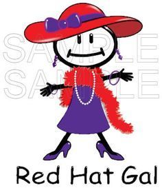 236x273 Huge Collection Of Free Clip Art Red Hat Ladies