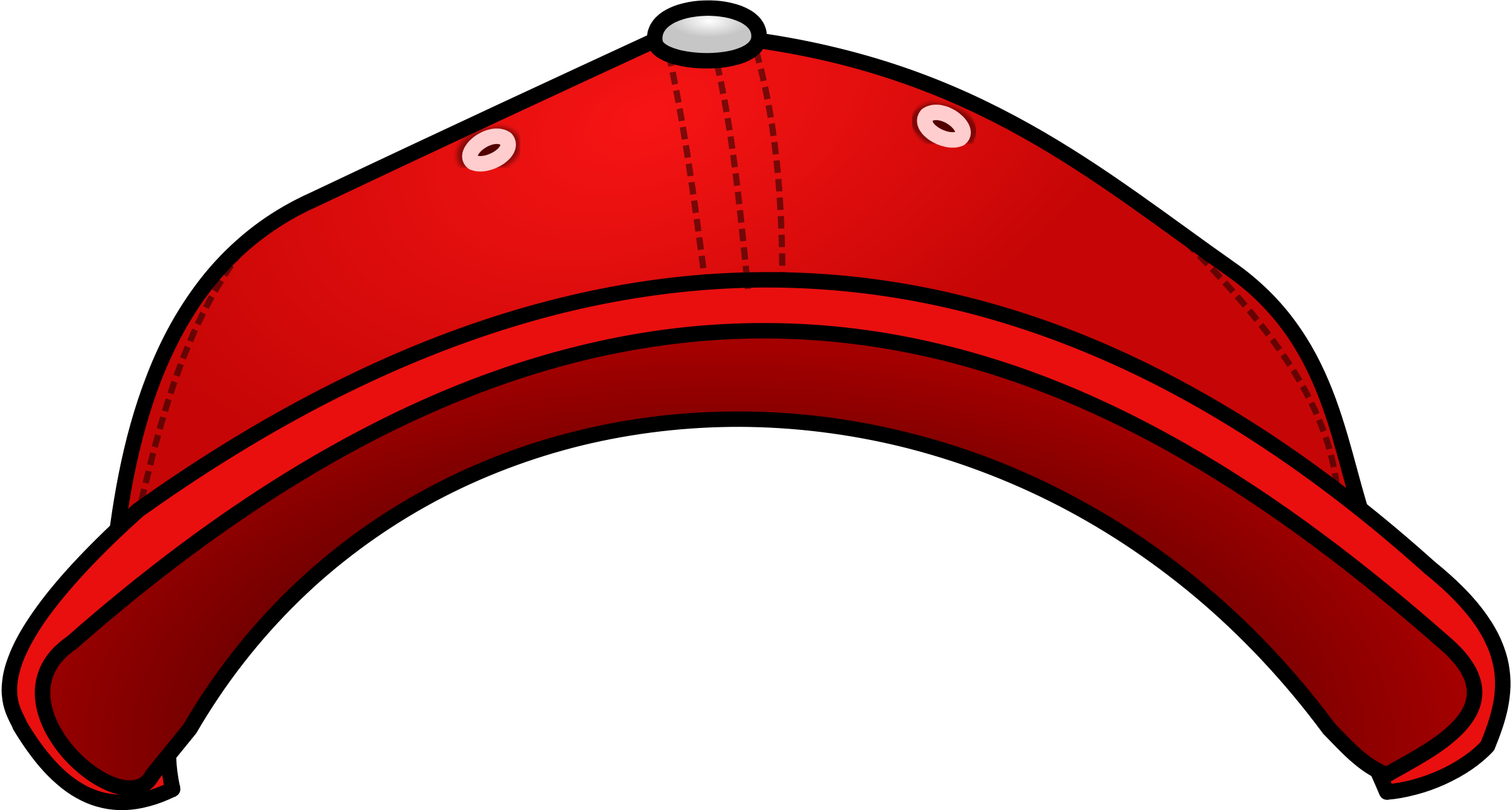 2400x1287 Red Hat Clip Art Free