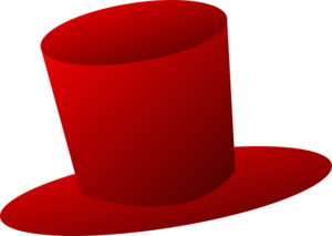 300x213 Red Top Hat Clipart