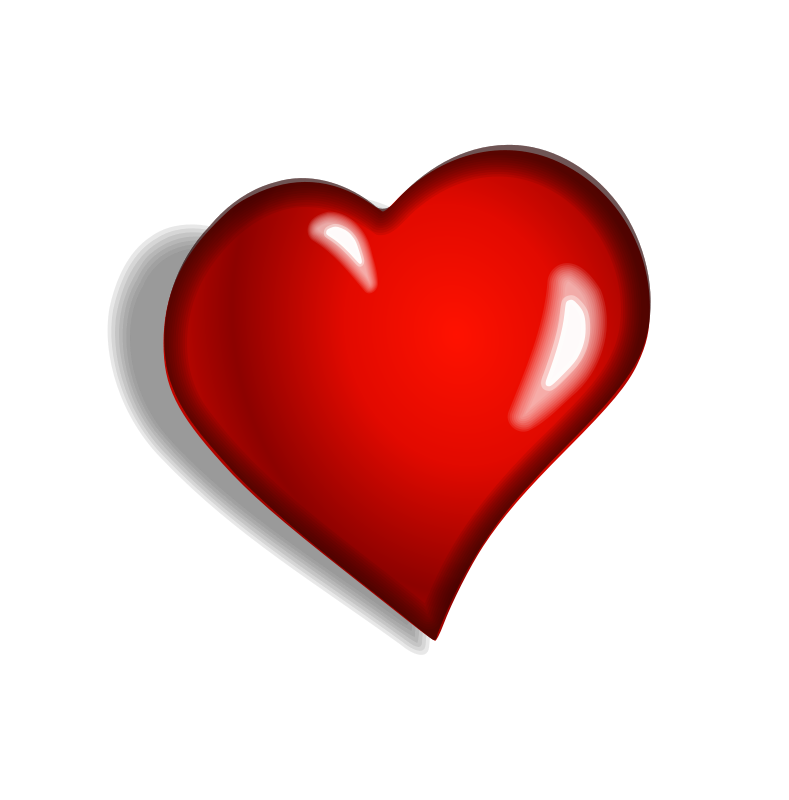 789x800 Red Double Heart Clip Art Islam The Red Heart Couldn'T Say