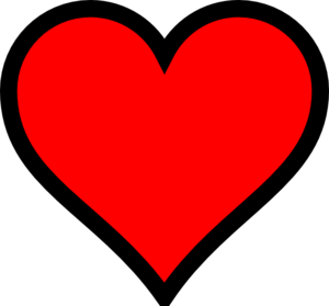 300x279 Hearts Clipart High Resolution
