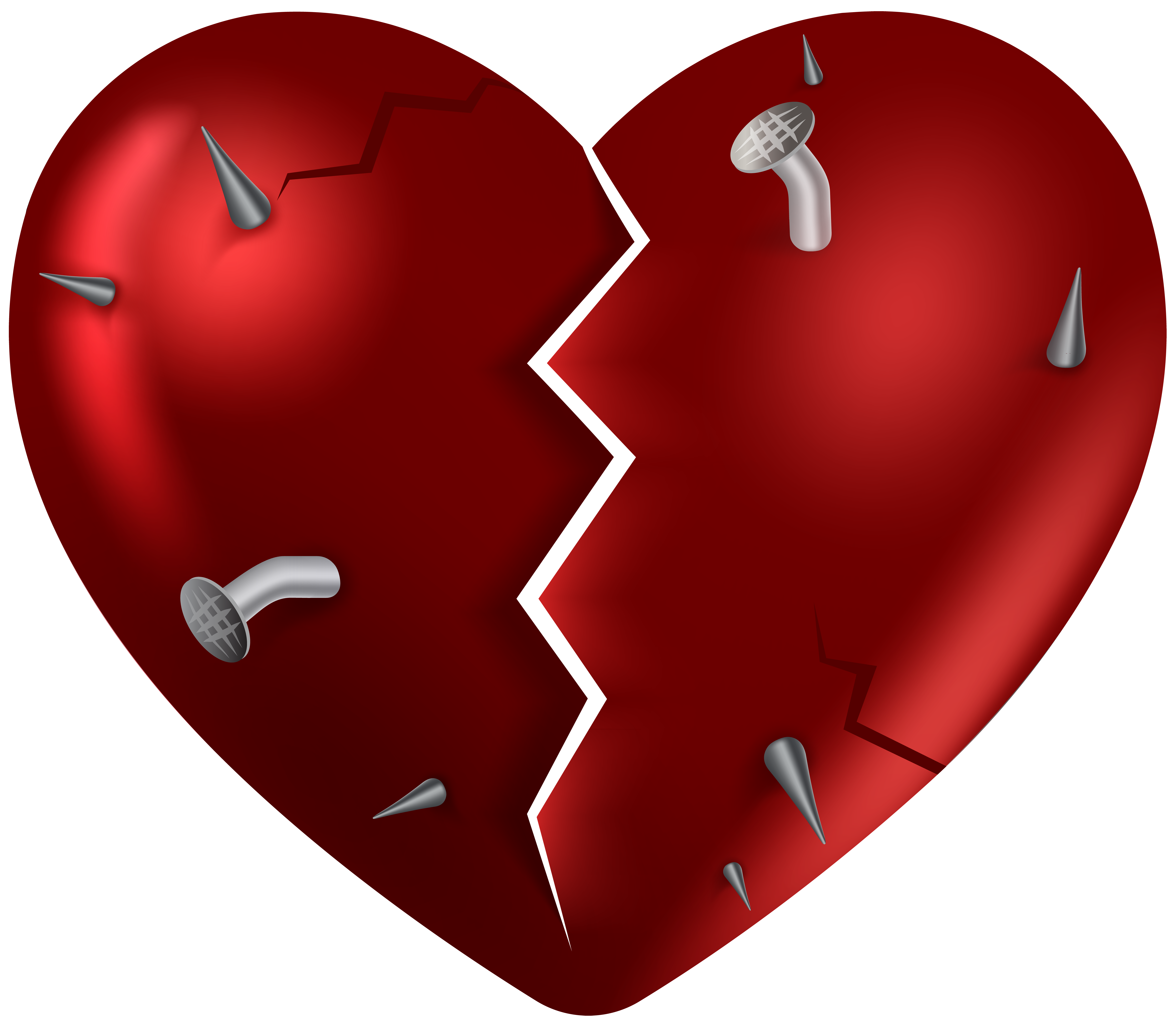 Red Heart Clipart High Resolution