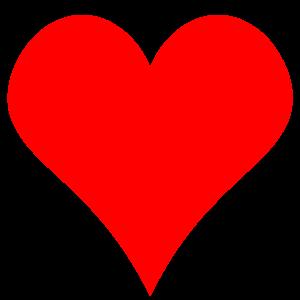 300x300 Fancy Red Heart Clipart