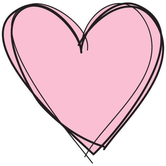 570x570 Heart Clipart No Background, Free Heart Clipart No Background