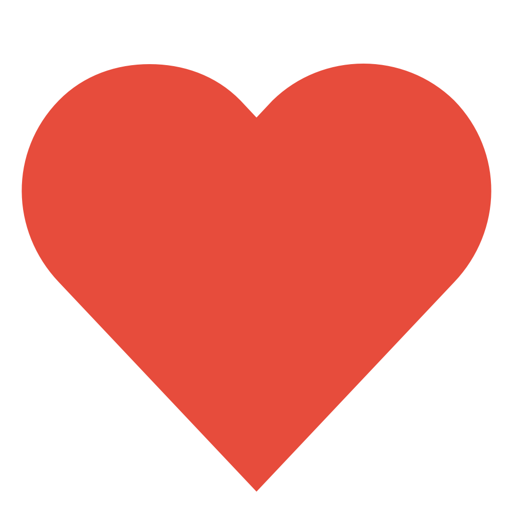 Red Heart No Background | Free download on ClipArtMag