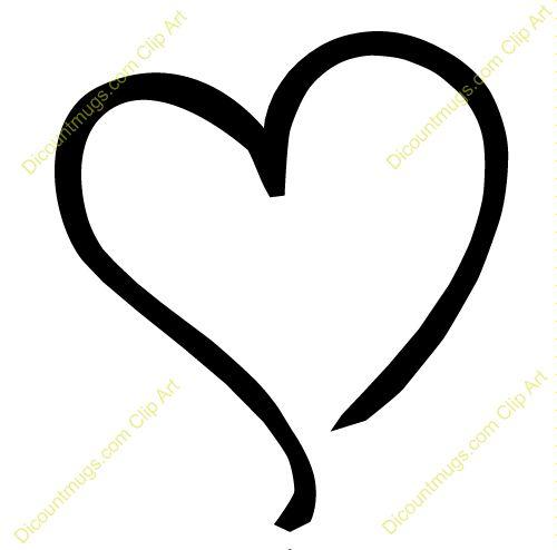 500x494 Red Heart Clipart Red Heart Clip Art