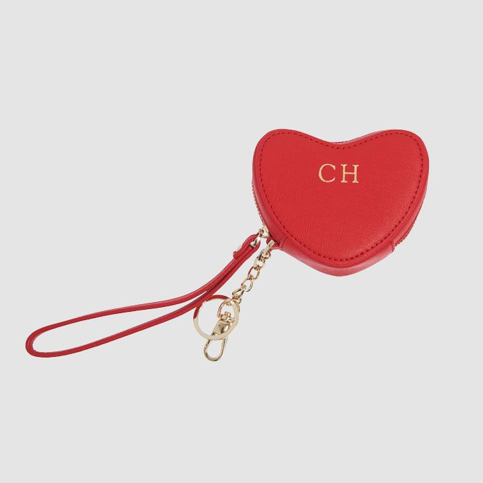 697x697 Red Heart Purse Keyring The Daily Edited Personalised Leather