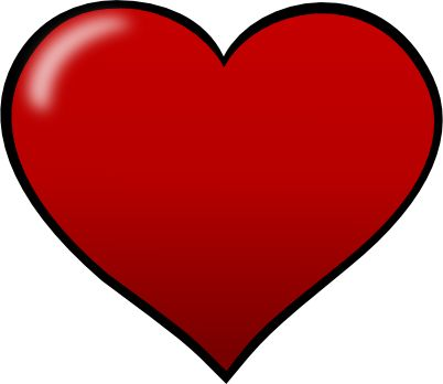 Red Hearts Clipart