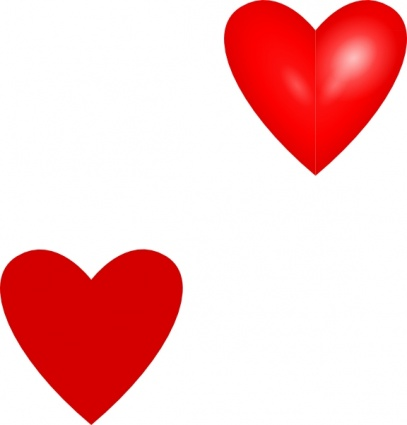 Red hearts clipart free download best red hearts clipart on 407x425 red hearts clip art voltagebd Gallery