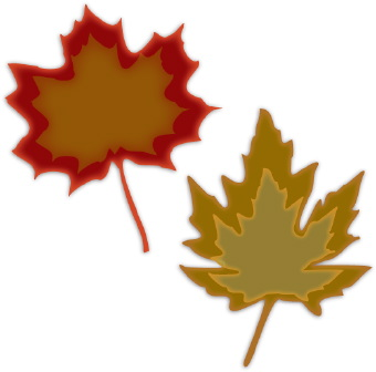 340x336 Maple Leaf Clipart Winter Leaves