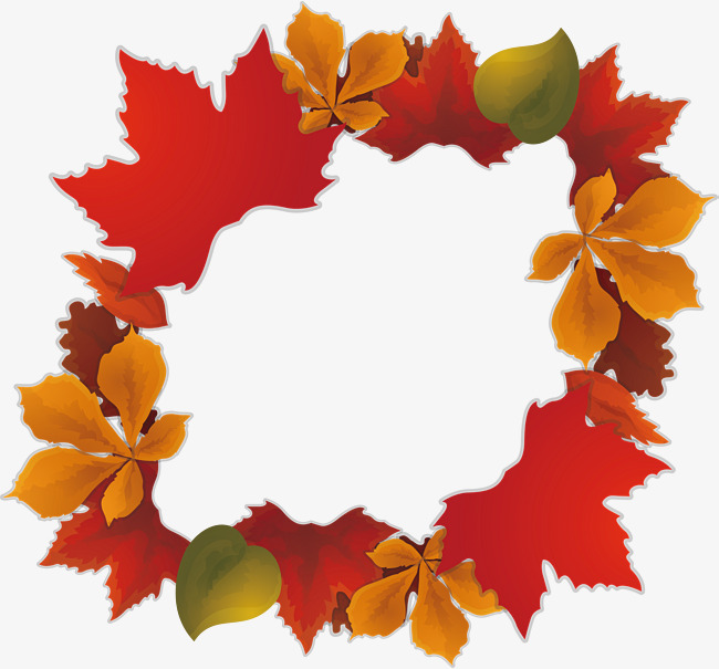 650x605 Red Maple Leaf Border, Vector Png, Maple Leaves, Red Maple Leaves
