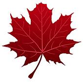 170x169 Red Maple Leaf Clip Art Clipart
