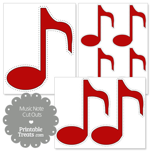 photograph about Large Printable Music Notes identify Purple Musical Observe No cost obtain least difficult Pink Musical Observe upon