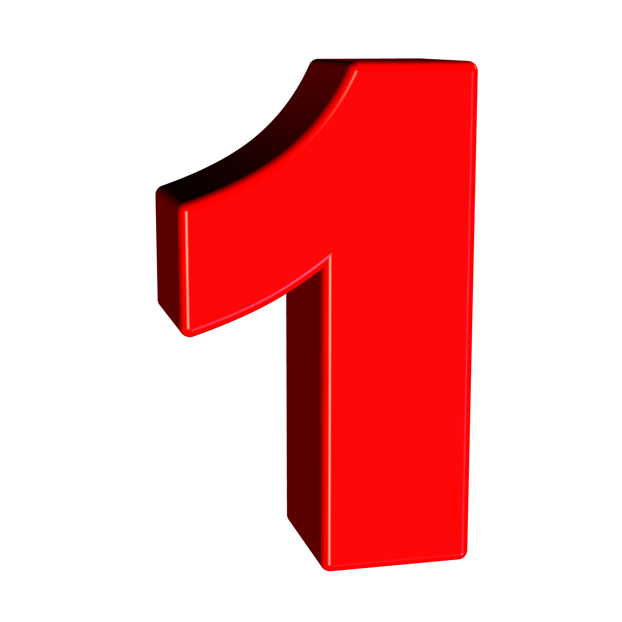 2000x2000 Free Stock Photo Of Red Number 1