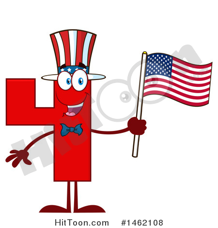 450x470 Independence Day Clipart
