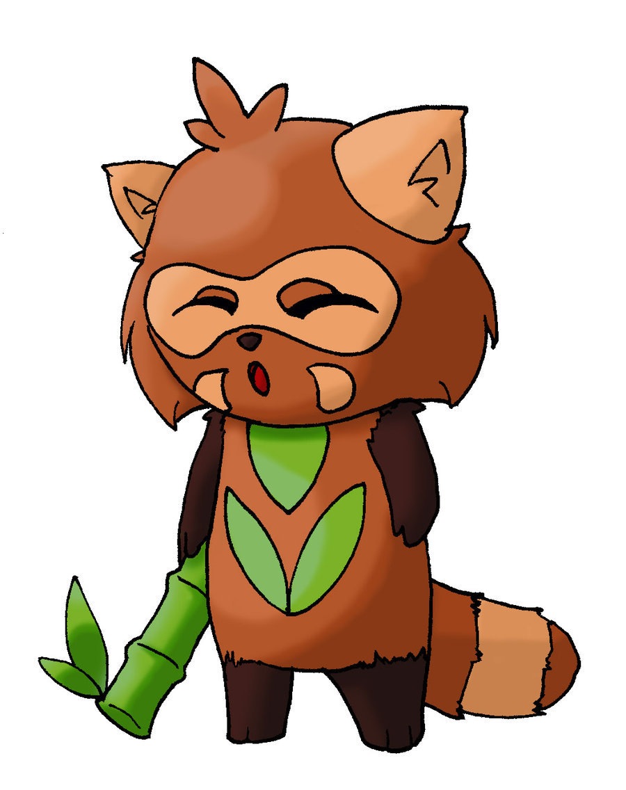 900x1136 Fakemon Red Panda Fighter By Scarecrowmarionette