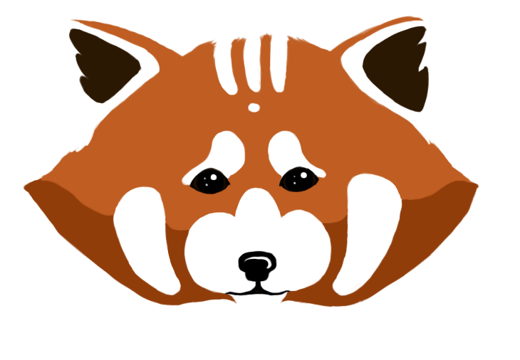 730x506 Red Panda Face By Ecstaticdismay