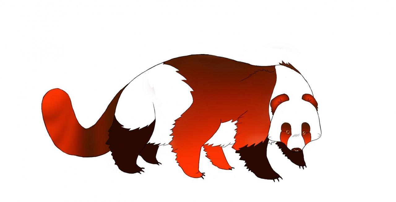 1280x654 Giant Red Panda Pillar By Prismpanda
